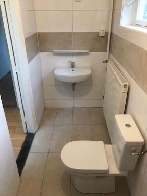 Kleine badkamer aanpassing