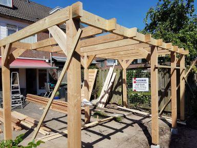 Dakconstructie Overkapping Dordrecht