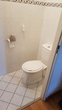 Toilet renovatie Dordrecht oude situatie
