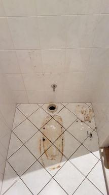 Toilet renovatie Dordrecht duoblok verwijderd