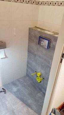 Toilet renovatie Dordrecht pvc vloer en wand bekleden