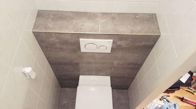 Zonder slopen toilet opgefrist in Dordrecht