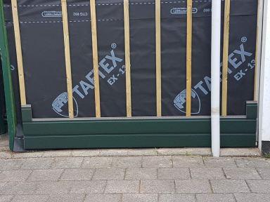 Montage kunstof delen berging/schuur te Dordrecht