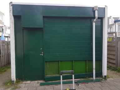 Start schuur/berging renovatie te Dordrecht