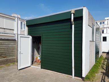 Kunstof deur met kozijn vervangen te Dordrecht