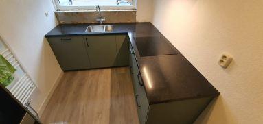 Keuken vernieuwen inclusief pvc vloer Dordrecht