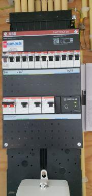 Nieuwe groepenkast met pv controlle systeem in Dordrecht