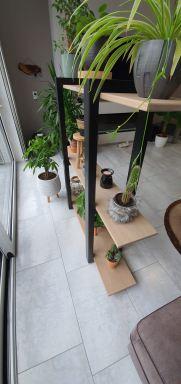 Eikenhouten plantenrek in Dordrecht