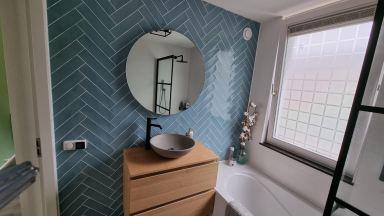 Badkamer renovatie door De Klussenier Benjamin Lute