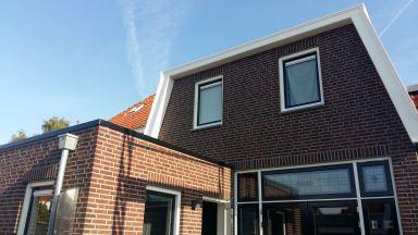 windveren bij woning in Oldenzaal
