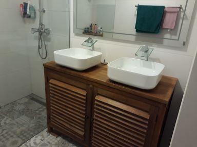 Badkamermeubel vervangen