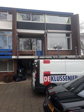 Gevel renovatie, keralite s'Hertogenbosch