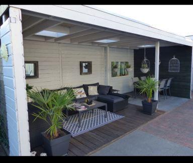Overkapping / Lounge incl. Berging in Veghel