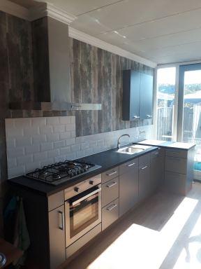 Keuken compleet incl. Muur deco in Den Bosch