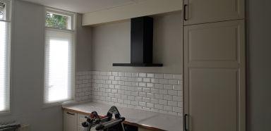 Keuken verbouwing Maaspoort / 's-Hertogenbosch
