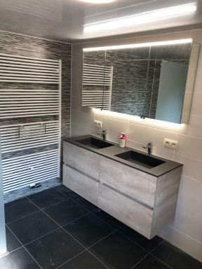 Badkamerverbouwing Zichem