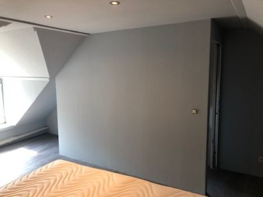 Zolder ruimte ombouwen naar slaapkamer