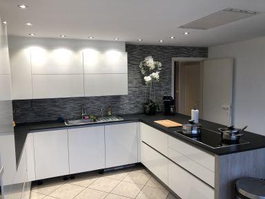 Renovatie keuken Scherpenheuvel tegels geplaatst