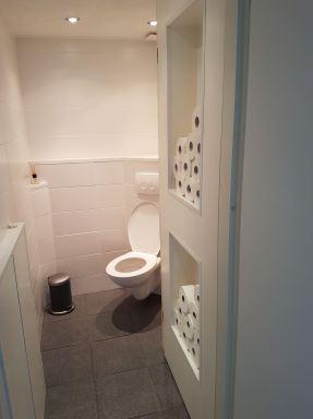 Toilet renovatie Dronten - eindresultaat