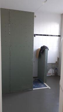 Badkamer renovatie Houten