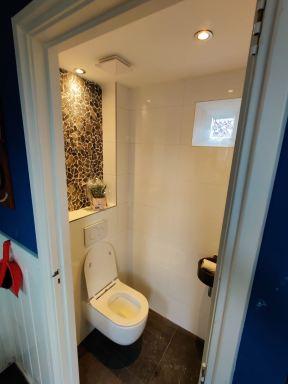 Badkamer- en toiletrenovatie in Boskoop