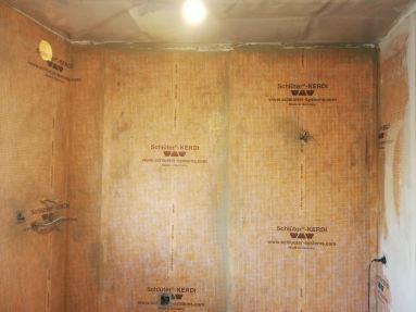 badkamer renovatie warerdicht kerdidoek Rupelmonde