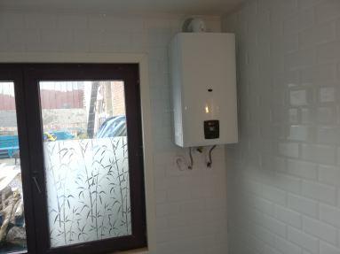 waterverwarmer /doorstromer installatie Rupelmonde