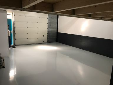 Garagevloer coating Lelystad
