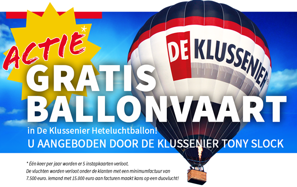 Gratis ballonvaart!